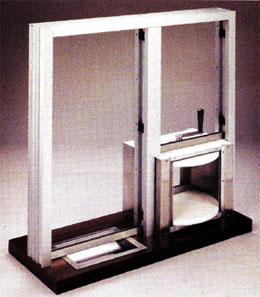 Exchange Window With Lazy Susan Bullet Resistant